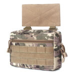 Outdoor Camping Hunting Bags Nylon Molle Waistcoat Chest Bags (Camouflage)