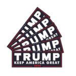 5pcs/set Donald Trump Car Body DIY Keep America Great For President 2020