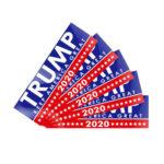 5pcs 220x70mm Car Styling Stickers TRUMP KEEP AMERICA GREAT 2020 PVC Decals
