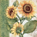 5D DIY Diamond Painting Bright Flower Full Round Drill Embroidery (LG149)