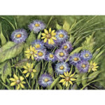 5D DIY Diamond Painting Flower Full Round Drill Embroidery Picture (LG208)