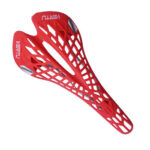 Super Light Hollow MTB Mountain Road Bike Saddle Seat Bicycle Parts (Red)