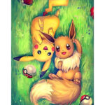 No Frame Cute Canvas Print Painting Happy Cartoon Wall Art Picture Poster