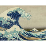 Sea Wave Painting By Numbers Kit Hand Painted Canvas Oil Art Picture Decor