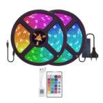 10m 24 Key Remote Control Tape Lamp 5050RGB Waterproof Bluetooth Light (EU)