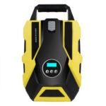 Portable Car Air Compressor Emergency Pump Digital Tire Inflator with Light