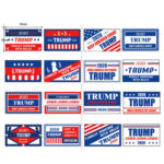 1 Roll US President Donald Trump Stickers Face Decals Keep America Great