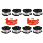 AF-100-3ZP Grass Trimmer Head Springs Universal Replacement Mower Spool
