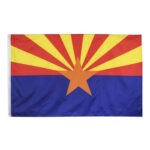 3 X 5ft United States American Banner Flag for Campaign Vote (Arizona)