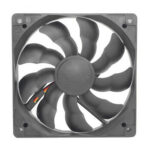 12cm Silent Chassis Fan DC 12V Quiet Cooler Radiator for Computer PC Case