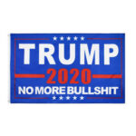150x90cm NO MORE BULLSHIT Polyester USA Trump Presidential Selection Flag