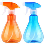 2pcs Plastic Empty Spray Bottle Rotating Sprinkler Head Watering Bottles