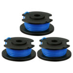 3pcs Grass Spool Trimmer Head Mower Replacement Part for Ryobi One+AC14RL3A