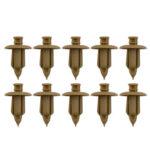 10pcs Door Trim Panel Fastener Clip Retainer Rivets for Volvo C70 S60 S80