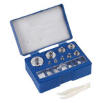 17pcs Chrome Plating Calibration Gram Scale Weights Set for Digital Scale