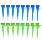 16pcs Automatic Drip Irrigation System Adjustable Self Watering Plant Stake