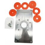 Multi-function Router Table Insert Plate Alloy Trimming Machine Flip Board