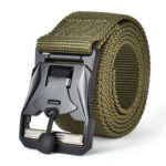 Outdoor Training Hunting Waist Belt Molle Waistband for Men (Army Green)