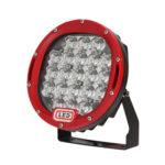 105W 7 inch LED Work Light Spot Beam Off Road Driving Fog Lamp Red Frame