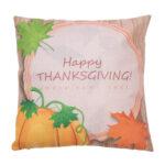 Creative Pumpkin Head Pattern Cotton Pillow Cover Pillow Cushion Cover