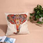 Home Decor Cotton Linen Pillow Case Sofa Waist Throw Cush Cover 003