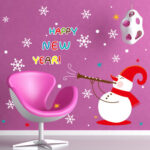 Happy New Year Removable Wall Art Sticker Decal Decor Kids