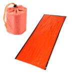 Survival Sleeping Bags Outdoor Camping Travel Blanket Raincoat Picnic Pad