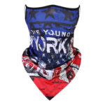 Graffiti Ice Silk Mask Outdoor Cycling Sunscreen Triangle Scarf (CZ-046.10)