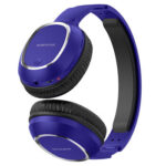 BOROFONE BO9 Bluetooth Wireless Deep Bass Music TF Card Headphone (Blue)