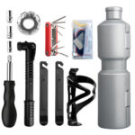 WEST BIKING Portable Kettle Type Bicycle Repair Tools Kit with Storage Box