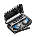 F9-5 Touch Bluetooth Earphones Handsfree Music Sports Mic Wireless Earbuds