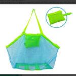 Outdoor Camping Beach Phone Storage Handbags Mesh Swimming Pool Totes Bags