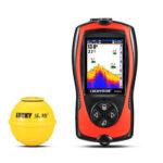 Portable Wireless Sonar HD Echo Sounder Fish Finder Fishing Tackle (US)