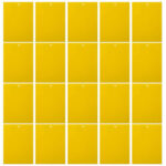 20pcs 8×10 inch Sticky Trap for Fruit White Black Fly Fungus Gnat Yellow