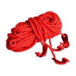 4pcs 4m Reflective Tent Rope Guy Line 4mm Diameter with Aluminum Tensioners
