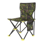Portable Folding Chair Outdoor Ultralight Easy Carry Chair (Green Camo M)