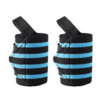 2pcs Sports Wrist Support Wristbands Wrist Bandage Hand Brace (Dark Blue)