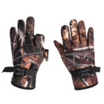 Fishing Gloves Men Outdoor Cycling Hiking Non Slip Gloves (Camouflage)
