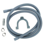 2.5m Foldable Drain Hose for Washing Machine Inlet Pipe Plumbing Hoses Kits