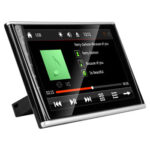 9 inch 2.5D Car Headrest Monitor Multimedia Player Bluetooth FM Modulator