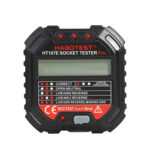 Socket Tester Ground Zero Line Plug Phase Check Voltage Detector (HT107D)