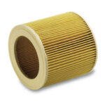 Air Dust Vacuum Cleaner Replacement Filter for Karcher A/WD Series Yellow