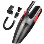 120W Cordless Handheld Vacuum Cleaner Dry Wet Vacuum w/ Light for Car Home