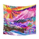 Bohemia Mandala Beach Towel Polyester Tapestry Wall Hanging Blanket (L3)