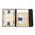 Coach Teaching Foldable Magnetic Basketball Strategy Board with Pen Eraser