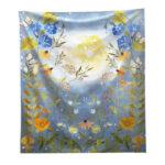 Moonlight Garden Tapestry Bohemia Style Beach Towel Yoga Picnic Mat (L3)