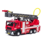 Jiaye Simulation Alloy 1:50 Scale Engineering Car Model Children Toy Car(Ladder Car)