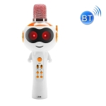 Lebo L838 Early Childhood Education Magic Sound Changing Toy Bluetooth Microphone Speaker(Orange)