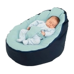 Classic Comfortable Safe Baby Sofa Feeding Bed Cover without Filling (Blue)