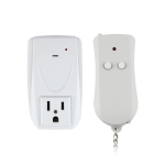 110V Indoor Wireless Smart Remote Control Switch with Single Keychain Transmitter, US Plug